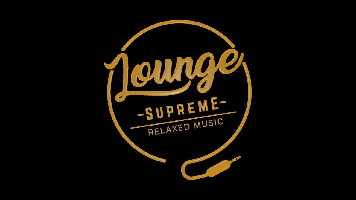 Lounge-Musik von Lounge-Band Lounge Supreme aus Stuttgart in Gold auf schwarzem Hintergrund