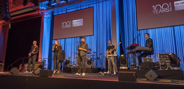 3 Tage Live-Entertainment – 100 Jahre Behringer