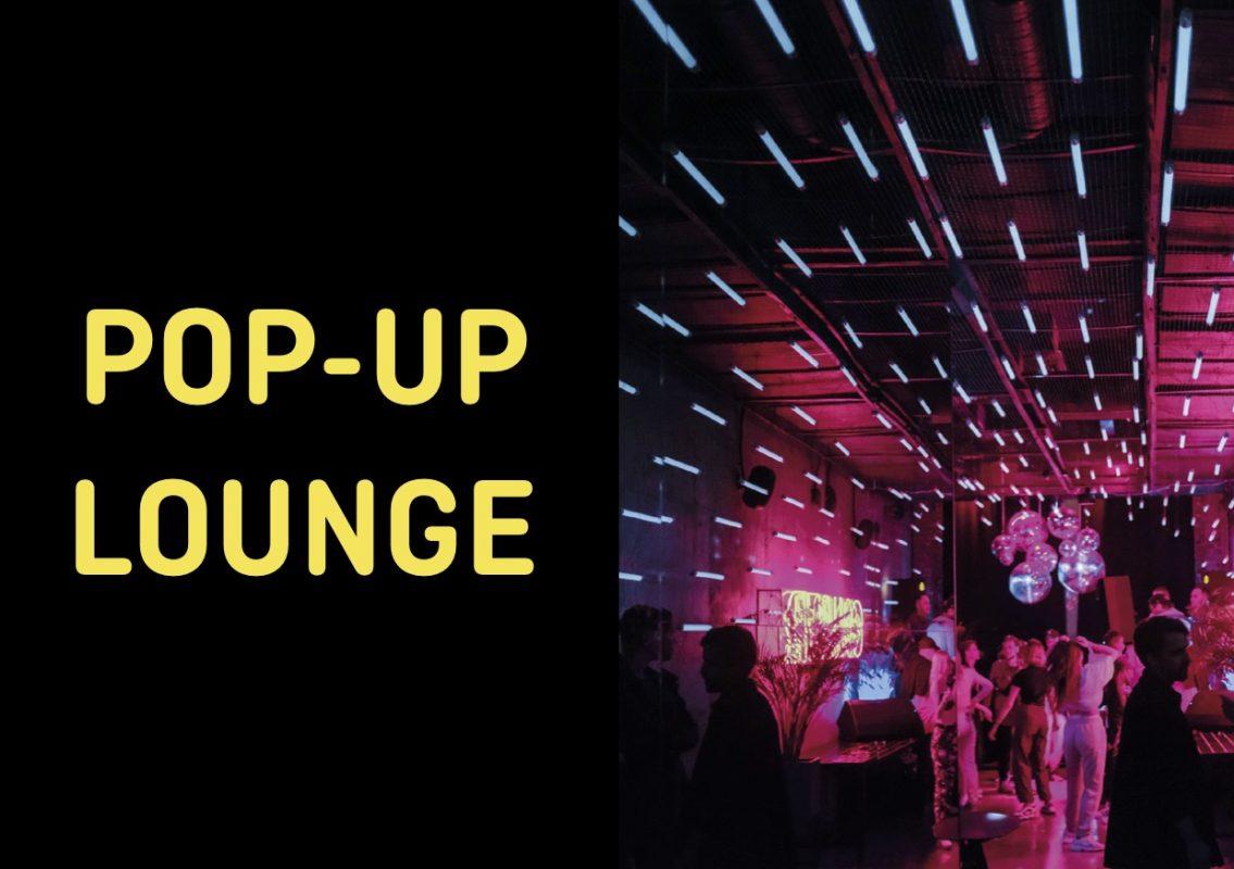 Pop-Up Lounge für Corona-konforme Veranstaltungen